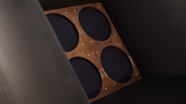 Kugelwellentrichter Lautsprecher