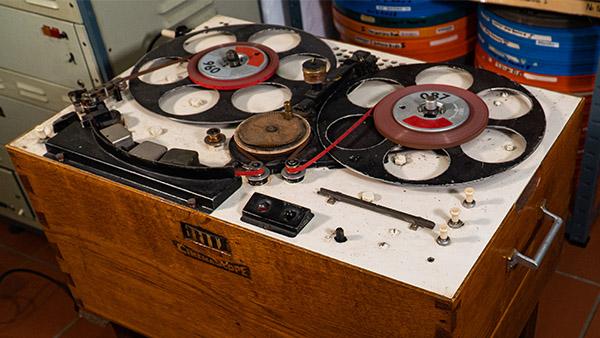 Tonbandgerät (Eigenbau)