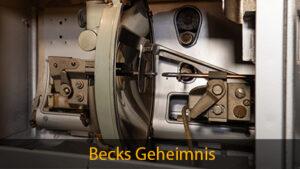 Beitragsbild Becklampe / Kohlebogenlampe