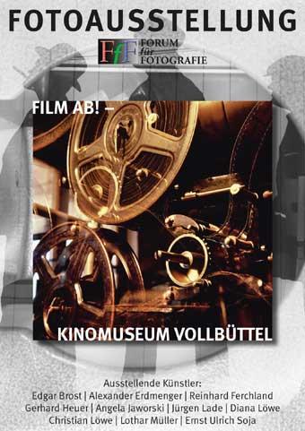 Plakat Fotoausstellung 2008 im Kinomuseum Vollbüttel