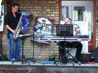 Freiluftkino 2007 - Das Joe Madison Duo