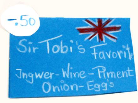 Sir Tobi's special eggs beim Freiluftkino 2009 im Kinomuseum Vollbüttel
