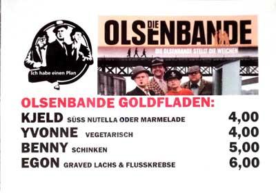 Spesiekarte beim Freiluftkino 2018 im Kinomuseum Vollbüttel