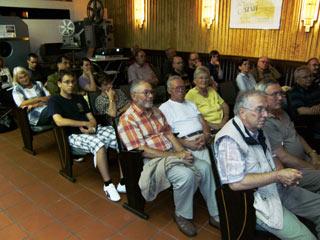 Publikum bei Sven Papes Vortrag