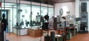 Schulfilm-Projektoren im Kinomuseum Vollbüttel